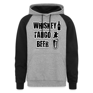 Whiskey Tango Beer Colorblock Hoodie - Colorblock Hoodie
