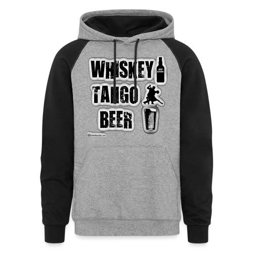 Whiskey Tango Beer Colorblock Hoodie - Colorblock Hoodie