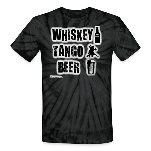 Whiskey Tango Beer Unisex Tie Dye T-Shirt - Unisex Tie Dye T-Shirt