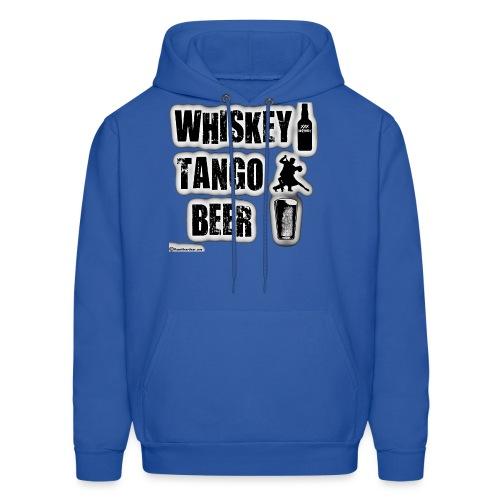 Whiskey Tango Beer Men's Hoodie - Men's Hoodie