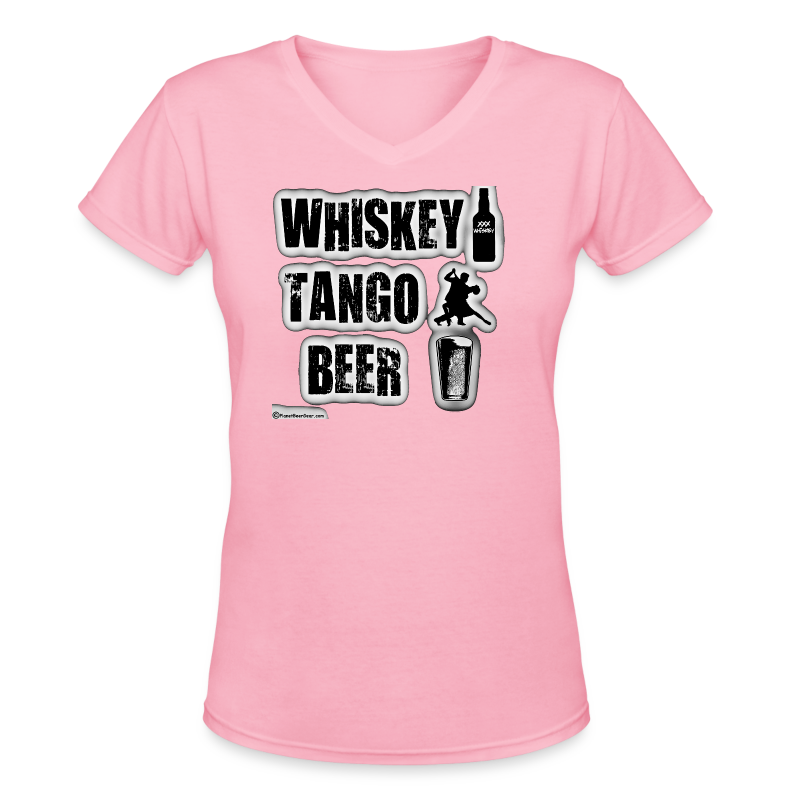Whiskey Tango Beer Women's V-Neck T-Shirt - Women's V-Neck T-Shirt