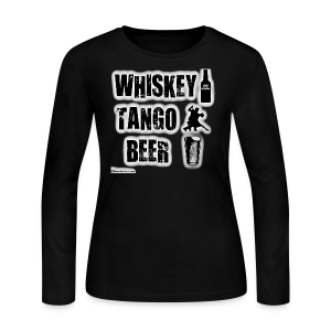 Whiskey Tango Beer Women's Long Sleeve T-Shirt - Women's Long Sleeve Jersey T-Shirt