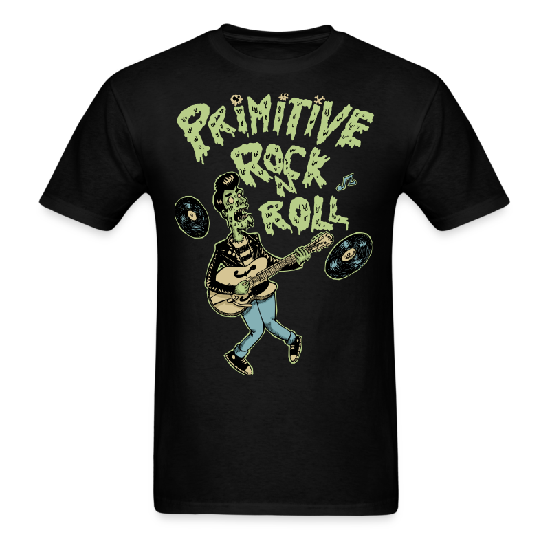 Primitive Rock N Roll Men's T-Shirt - Men's T-Shirt