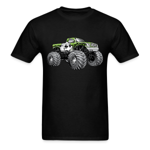 Skull Death Monster Truck - Men's T-Shirt