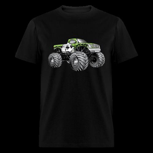 Skull Death Monster Truck - Men's T-Shirt