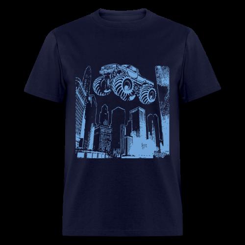 Flying Monster Truck - Men's T-Shirt