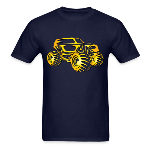 Monster Truck SUV - Men's T-Shirt