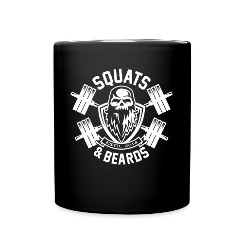Squats and Beards Coffee Mug - Full Color Mug