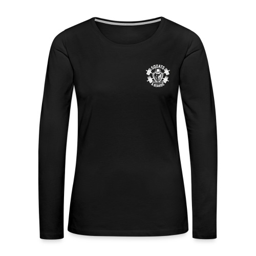 Squats and Beards Women's Long Sleeve - Women's Premium Long Sleeve T-Shirt