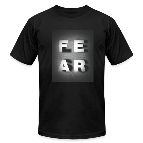 Fearless Shadow - (Black) - Men's Fine Jersey T-Shirt