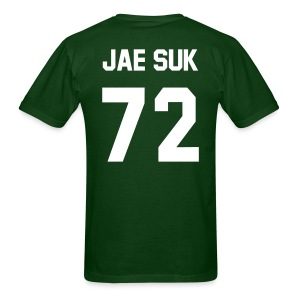 [Running Man] Jaesuk Jersey w/ Grasshopper - Men's T-Shirt