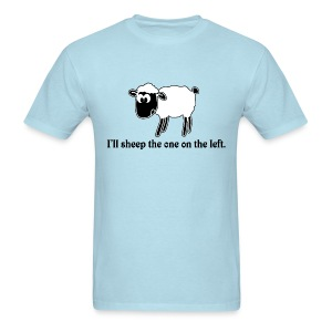 Sheep one on left - Men's T-Shirt