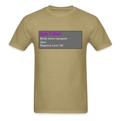Epic Item Level 90 - Men's T-Shirt