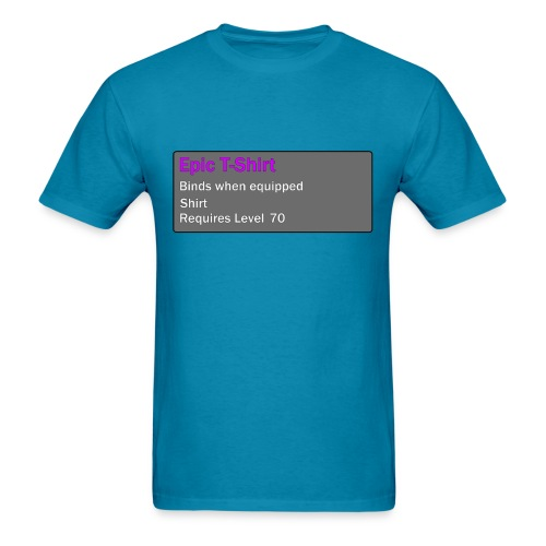 Epic Item Level 70 - Men's T-Shirt