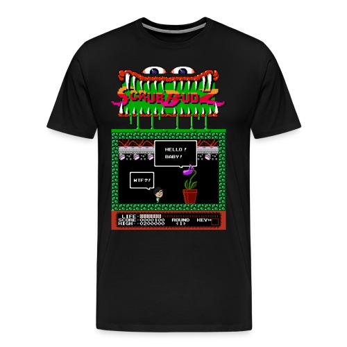 3XL Hello! Baby! Scrub Budz Shirt - Men's Premium T-Shirt
