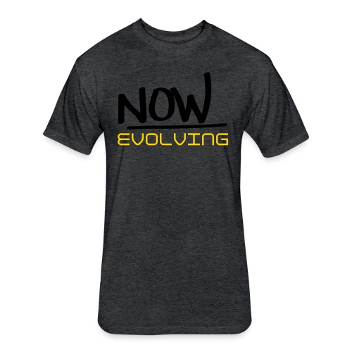 Now Evolving Fitted Tee - Fitted Cotton/Poly T-Shirt by Next Level