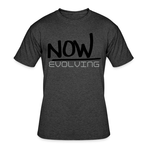 Now Evolving Fitted Tee - Men's 50/50 T-Shirt