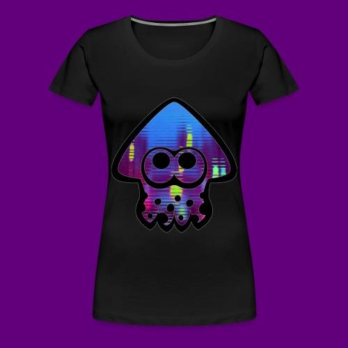 Squid city ambiance art - Women's Premium T-Shirt