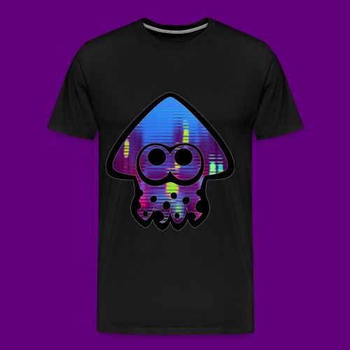 Squid city ambiance art - Men's Premium T-Shirt