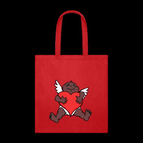 Valentines Bags African Cupid Love Tote Bags - Tote Bag