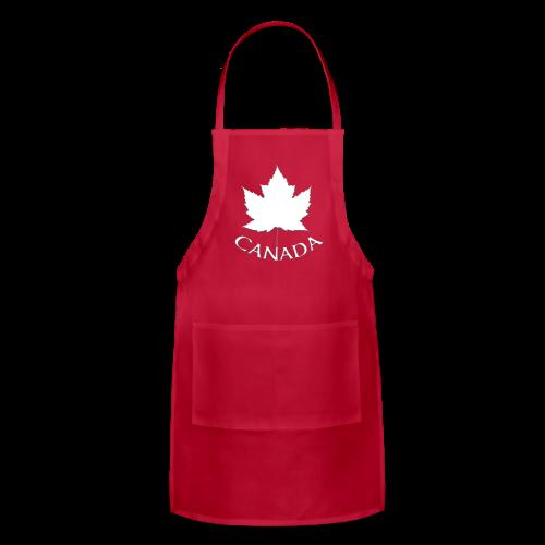 Canada Aprons Canada Flag Souvenir BBQ Aprons - Adjustable Apron