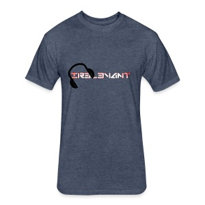 Ir3l3vant T-Shirt  - Fitted Cotton/Poly T-Shirt by Next Level