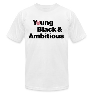 Men's YBA TShirt (White) - Men's T-Shirt by American Apparel