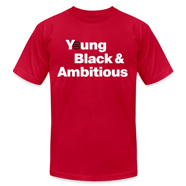 Men's YBA TShirt (Red and White)
