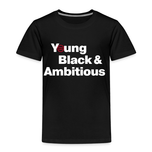 YBA Toddler Tee - Black - Toddler Premium T-Shirt