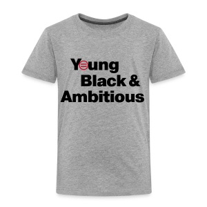 YBA Toddler Tee - Gray - Toddler Premium T-Shirt