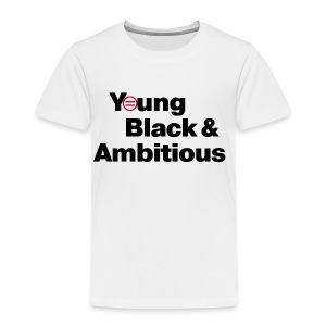 YBA Toddler Tee - White - Toddler Premium T-Shirt