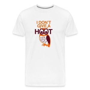 NO HOOT OWL (GUYS) - Men's Premium T-Shirt