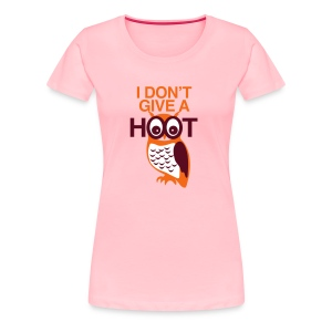 NO HOOT OWL (GIRLS) - Women's Premium T-Shirt