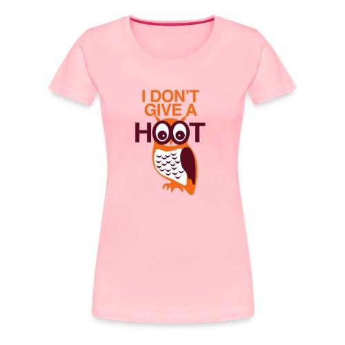 NO HOOT OWL (GIRLS) - Women's Premium T-Shirt