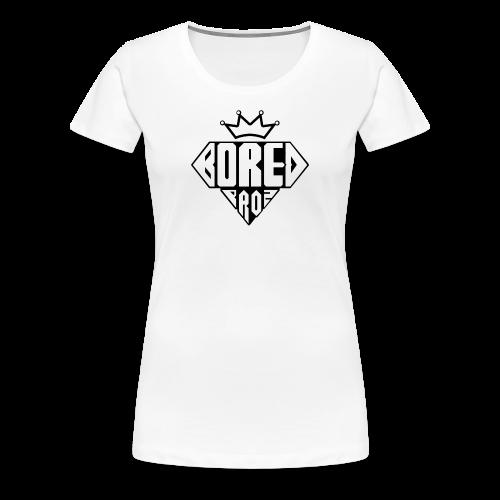 Diamond Boredproz - Women's Premium T-Shirt