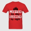 LAWYER BY DAY GAMER BY NIGHT  T-Shirts - Men's T-Shirt