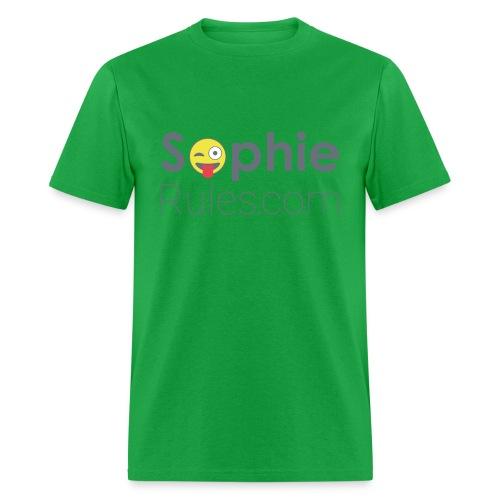 Sophie Rules Plain Tee - Men's T-Shirt