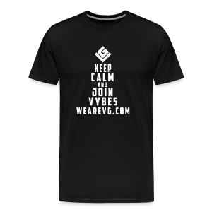 Join Vybes Men's T-Shirt (Black) - Men's Premium T-Shirt