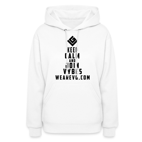 Join Vybes Women's Hoodie (White) - Women's Hoodie