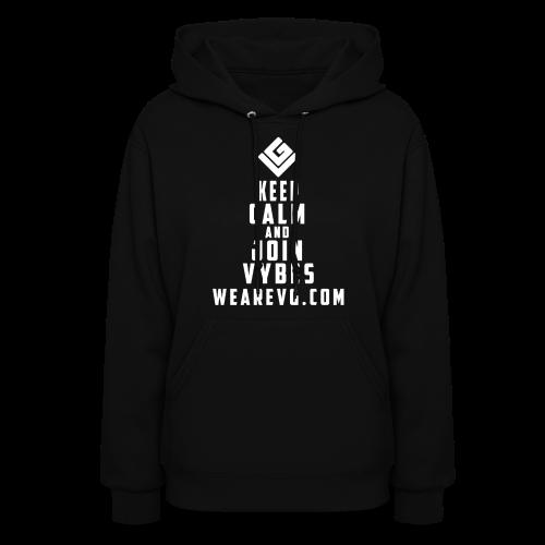Join Vybes Women's Hoodie (Black) - Women's Hoodie