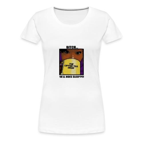 womens tea hour shirt  - Women's Premium T-Shirt