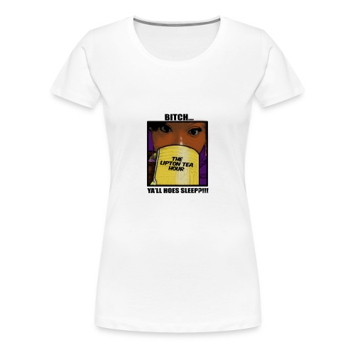 womens tea hour shirt  - Women's Premium T-Shirt