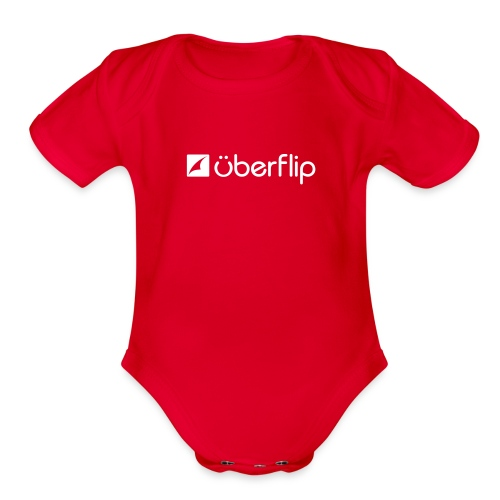 The Uberflip Baby Onesy - Organic Short Sleeve Baby Bodysuit