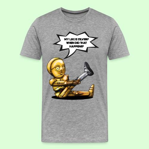 Mandela Defect (Men's T - Gray) - Men's Premium T-Shirt