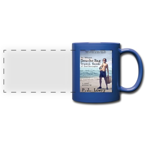 Chad Barrington Blue Mug - Full Color Panoramic Mug