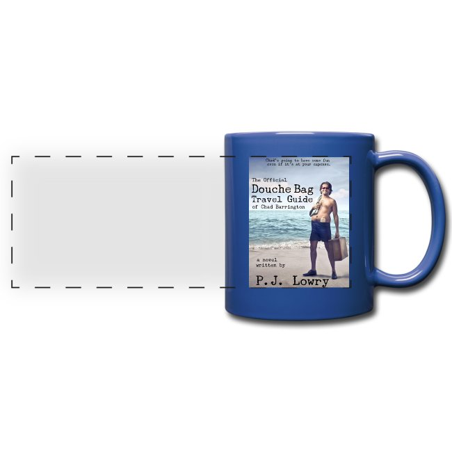 Chad Barrington Blue Mug