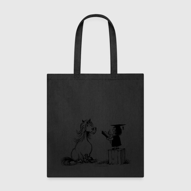Thelwell Pony Learning At School Teacher - Tote Bag