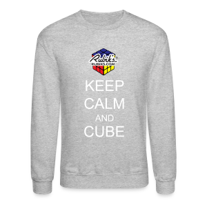 Rubik's Cube Keep Calm Cube On - Crewneck Sweatshirt