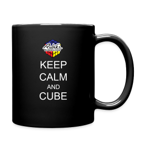 Rubik's Cube Keep Calm Cube On - Full Color Mug