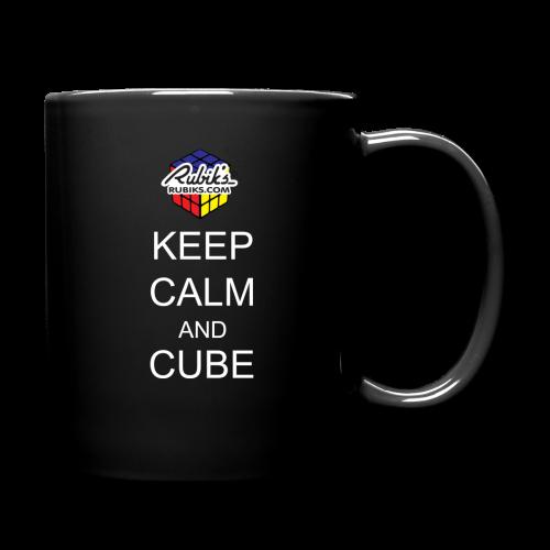 Rubik's Cube Keep Calm Cube On - Full Color Mug